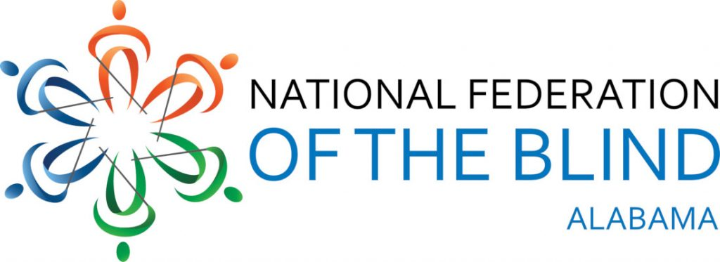 National Federation of the Blind of Alabama Logo